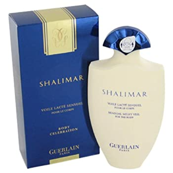 SHALIMAR by Guerlain Body Lotion 6.8 oz for Women. Launched by the design house of guerlain in 1925, shalimar is classified as a refined, oriental fragrance . This feminine scent possesses a blend of iris, rose and vanilla. It is recommended for even...