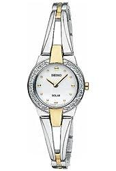 Seiko Solar Women's Quartz Watch SUP206