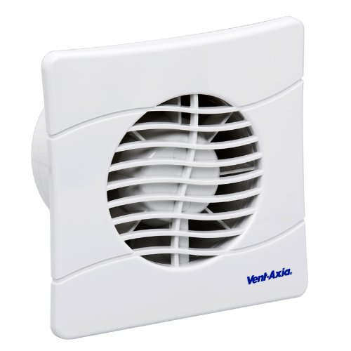 Vent Axia 436532 Toilet / Bathroom Extractor Fan with Timer BAS100SLT