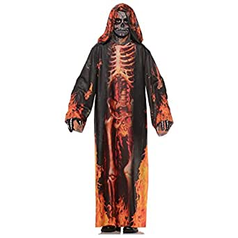 Underworld Grim Reaper Child Costume Flame Reaper
