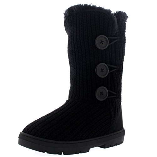 womens-triplet-button-fully-fur-lined-waterproof-winter-snow-boots-11-blk42-ea0288