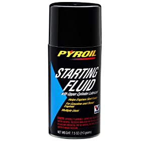 Pyroil Starting Fluid - 7.5 oz.