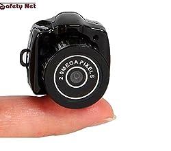 SAFETYNET Smallest Mini Camera Camcorder Video Dv Dvr Hidden Web Cam