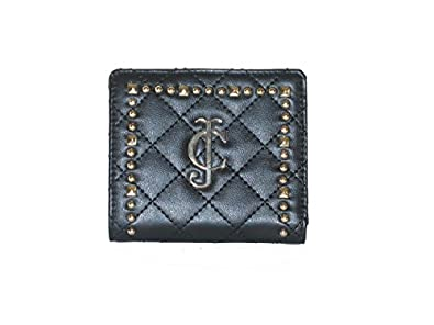 Juicy Couture Mini SFP Id Wallet Black Quilted