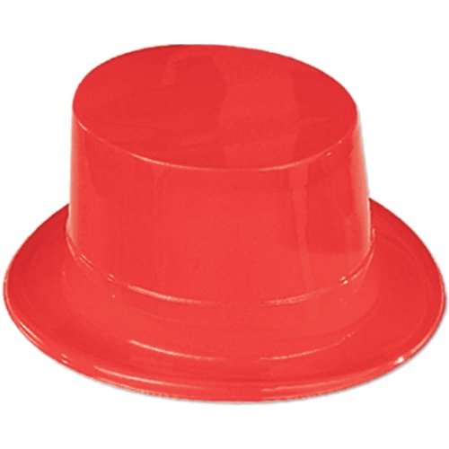 Red Plastic Topper