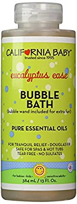 California Baby Bubble Bath Aromatherapy Eucalyptus Ease