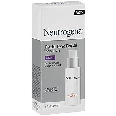 Neutrogena Rapid Tone Repair Moisturizer Night, 1 Ounce TEJ