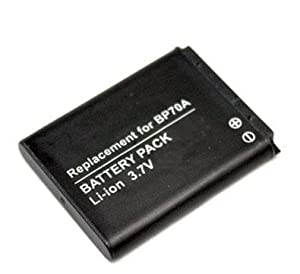 STK's Samsung BP70A Battery 1500mAh - for Samsung ST100, MV800, PL120, ST76, ST66, ST30, ST700, ST90, ST60, PL100, ST65, TL205, PL20, ST80, ST70, SL605, SL50, ST95, PL170, PL80, AQ100, WP10, PL101, TL110, PL90, BP-70A