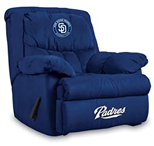MLB San Diego Padres Home Team Microfiber Recliner by Imperial