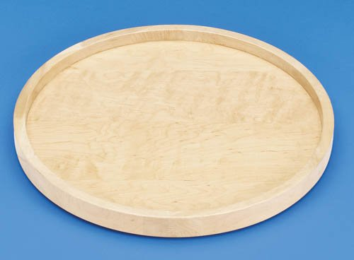 Rev-A-Shelf 20in Full Round Wood Lazy Susan Shelf with Bearing