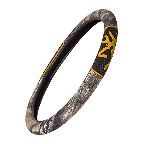 Browning 2-grip Steering Wheel Cover - Universal Camo (Dodge Emblem For Steering Wheel compare prices)