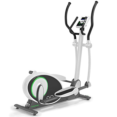 Tunturi Go Cross R 70 Elliptical Cross Trainer - Grey/Green