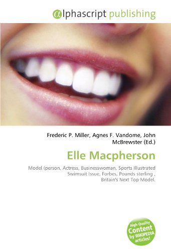 Geometry Celebrities Books Macpherson Elle