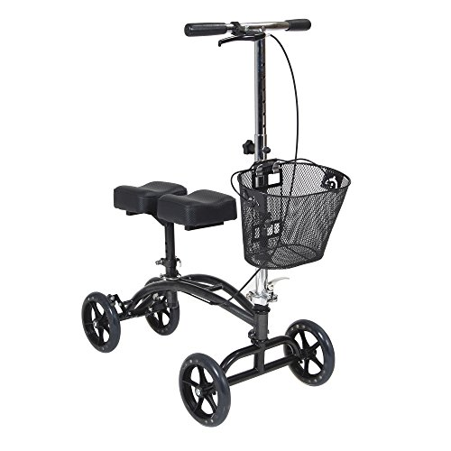 DRIVE MEDICAL Knee Scooter Walker with Basket 796
