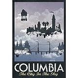 (13x19) Columbia Retro Travel Poster