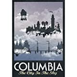 (13x19) Columbia Retro Travel Poster