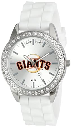 Game Time Ladies MLB-FRO-SF Frost MLB Series San Francisco Giants 3-Hand Analog Watch by Game Time