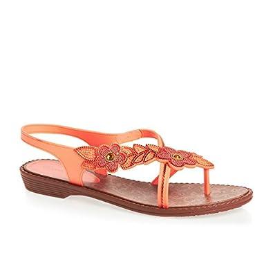 Grendha Orchid femmes Flip Flops / Sandals - Coral - SIZE EU 37