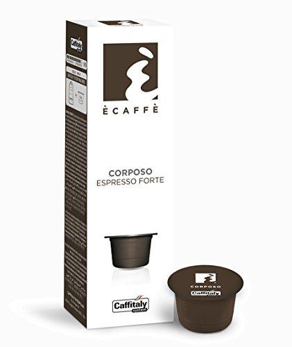 Order 80 Ècaffè Capsules Espresso Forte CORPOSO from Caffitaly System