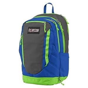 Amazon.com: Trans JanSport Capacitor Backpack; Blue, Grey ...