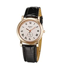 buy Valink Tech 2015 Newest Pu Leather Simple Roman Numeral Couples' Casual Wrist Watch Man And Woman Luxury Brand Wathces