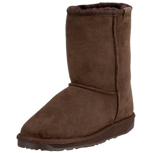 Emu Australia Women's Stinger Lo Chocolate Mid Calf Boots W10002 8 UK