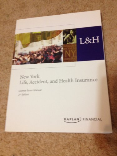 new-york-life-accident-and-health-insurance-license-exam-manual-2nd-edition