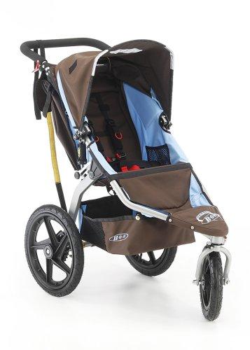 BOB Revolution Stroller in Chocolate/Blue