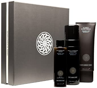 Gentlemen's Tonic Soothing Aftershave Balm Shave Gift Set