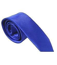 Red Eye plain skinny narrow tie