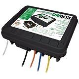 Dri-box 330 Outdoor Waterproof/Weatherproof Box- Black