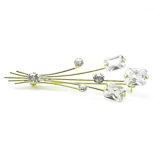 Perfect Gift - High Quality Elegant Brooch with Swarovski Crystals (451) Christmas Gifts Free Standard Shipment Annual Clearance