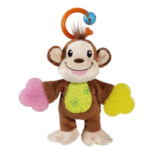 Munchkin Fun Ice Teether Babies, Monkey - 1