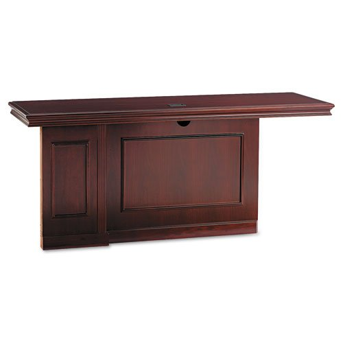 ASTRAL Products - ASTRAL - Orion Collection Top/Panel for Left Pedestal Credenza, 72w x 24d x 30h, Cherry - Sold As 1 Each - Not freestanding. Requires Pedestal/Side sold and shipped separately-ORDER BOTH. - Selected wood veneers with triple-coat lacquer