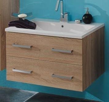 e zoll badm bel rialto wp 80 unterschrank u becken eiche s gerau dc219. Black Bedroom Furniture Sets. Home Design Ideas