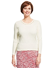 Classic Pure Cotton Cobble Trim Top with StayNEW™