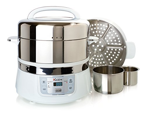 Electric Veggie Steamer ~ Euro cuisine fs stainless steel electric food steamer