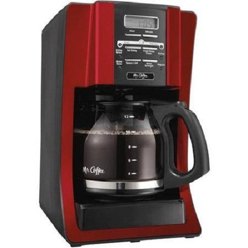 Mr. Coffee 12 Cup Programmable Modern Design with Chrome Front Coffeemaker (Mr Coffee Bvmc 12 Cup compare prices)