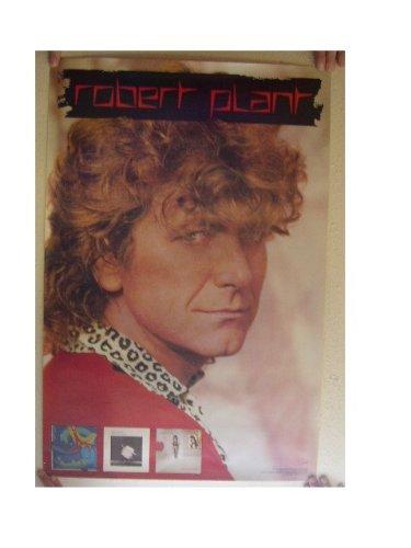 Robert Plant Poster Face Shot Led Zeppelin