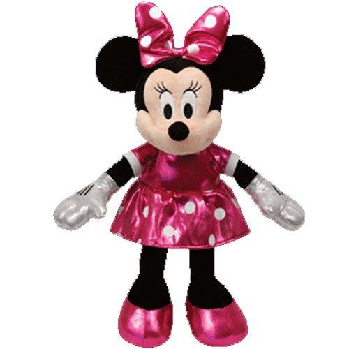 Ty Disney Sparkle Minnie - Mouse Pink Medium - 1