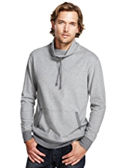 North Coast Pure Cotton Cowl Neck Sweat Top