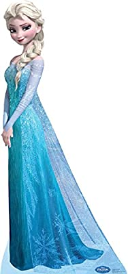 Snow Queen Elsa Frozen Disney Cardboard Cutout