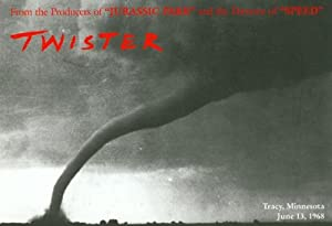 Twister Movie Poster (11 x 17 Inches - 28cm x 44cm) (1996) Style E -(Bill Paxton)(Helen Hunt)(Cary Elwes)(Jami Gertz)(Alan Ruck)(Lois Smith)