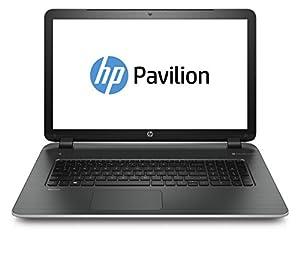 HP Pavilion 17-f296nf PC Portable 17,3'' Noir/Argent (Intel Core i5, 8 Go de RAM, Disque dur 1 To, Nvidia GeForce 840M 4 Go, Windows 8.1)
