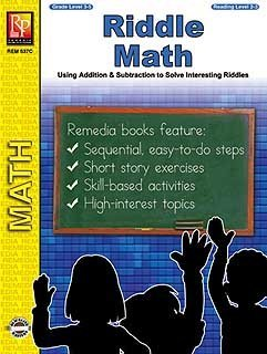 Remedia Publications 537C Riddle Math - 1