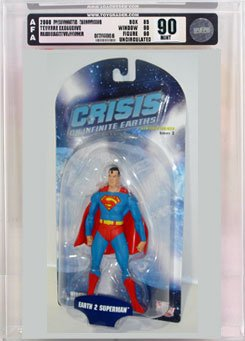 Picture of AFA Crisis on Infinite Earths 2 Earth 2 Superman Action Figure AFA 90 (B000RYF5B8) (Superman Action Figures)