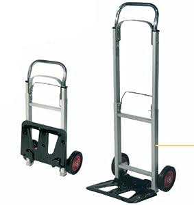 Carrello pieghevole portapacchi in alluminio portata 90 kg for Amazon carrello portavivande pieghevole