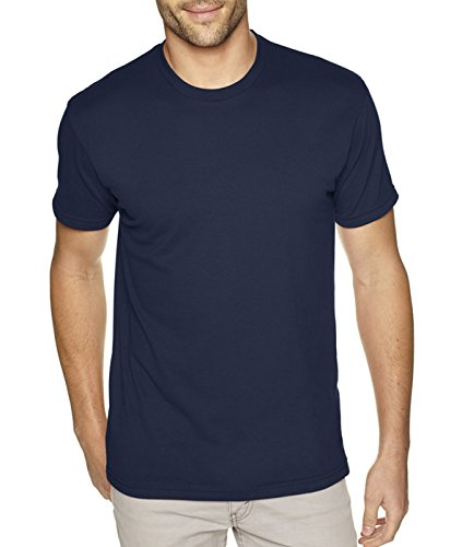 next-level-mens-premium-fitted-sueded-crew-midnight-nvy-x-small