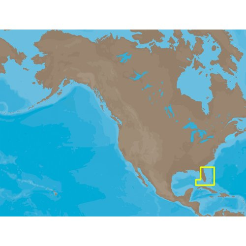 C-MAP NA-C315FURUNOFP / C-MAP NT+ NA-C315 - Straits of Florida - Furuno FP-Card