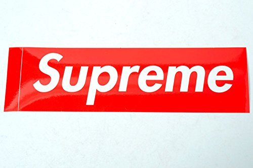 SUPREME (shupurimu) sticker boxed logo [parallel import goods] [other]